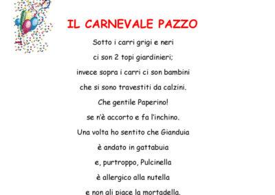 Poesie scuola primaria borgo san pietro carnevale di crema - Poesie primaverili per la scuola materna ...
