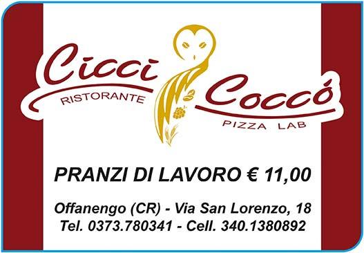 """Ristorante """"Ciccì Coccò"""" - Offanengo (CR)"""