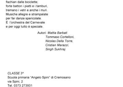 Poesie scuola primaria Cremosano