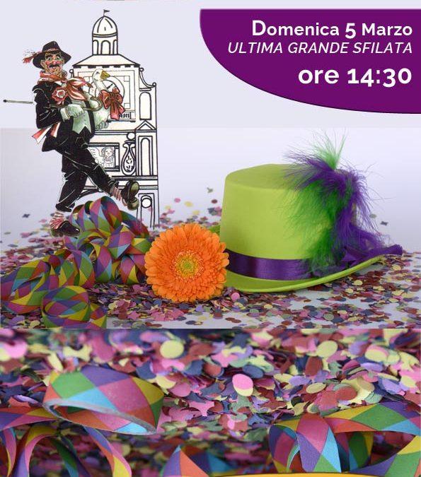 Ultima grande sfilata del carnevale cremasco 2017