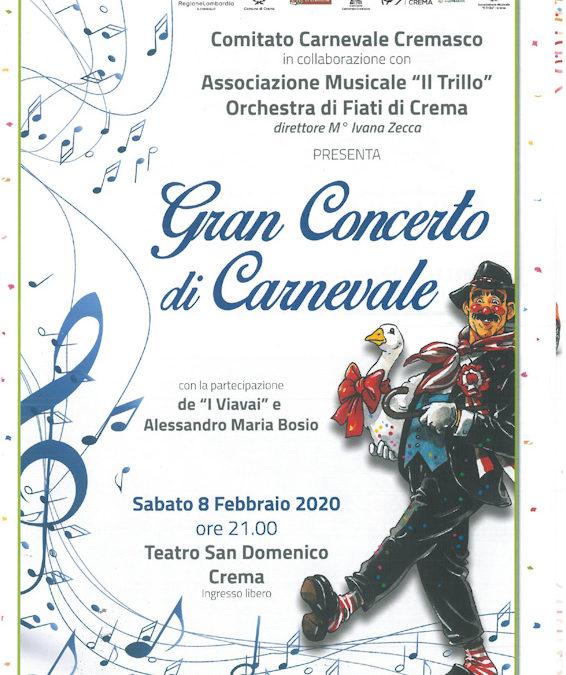 Concerto di carnevale 2020